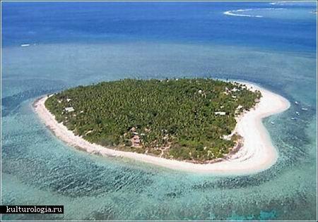 Остров в форме сердца озеро гутьеррес