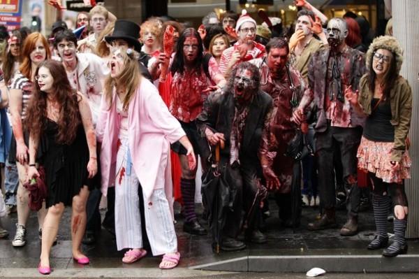 в америке зомби фото
