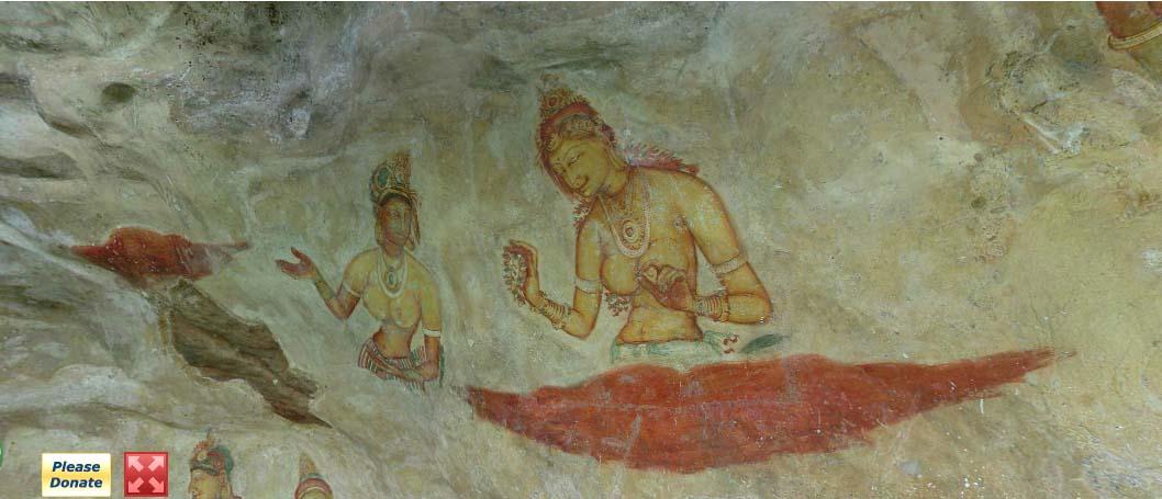 Сигирия-фрески