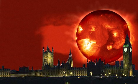 depiction of solar storm 1859 - photo #27