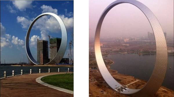 В китае в самом разгаре строительство