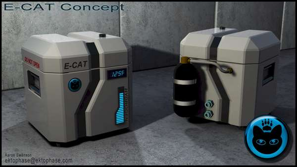 E-Cat Андреа Росси чемодан устройство