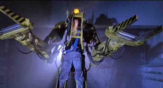 Погрузчик, экзоскелет Caterpillar Р-5000-Alien