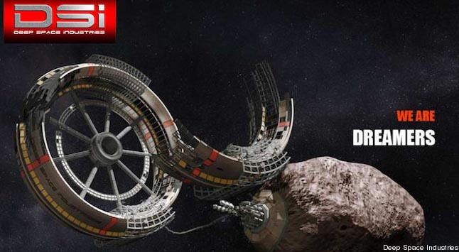 Deep Space Industries добыча на астероидах