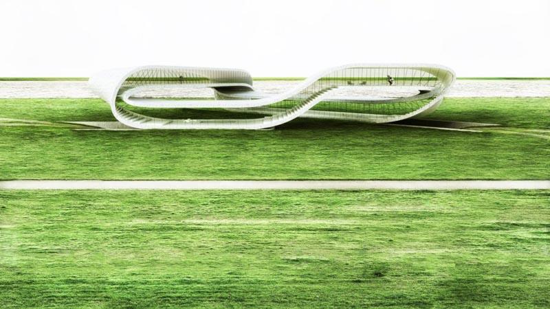 Бесконечный дом, отпечатанный на 3D принтере