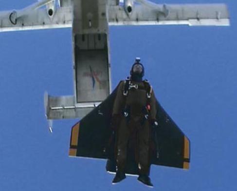 Экзоскелет, парашютная система GRYPHON