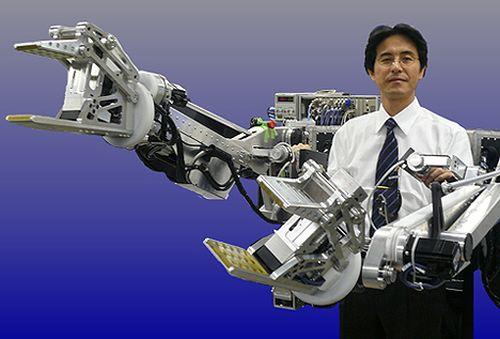 Японский экзоскелет-погрщик Power Loader