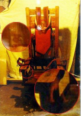 Призрак преступника на электрическом стуле