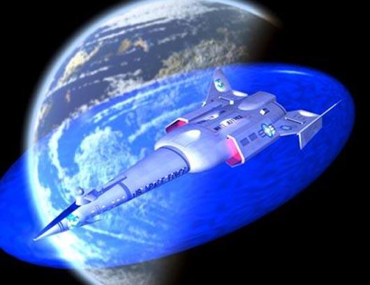 NASA. Силовой щит, электро-магнитный