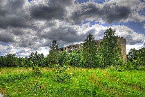 Польша. Город призрак Кломино