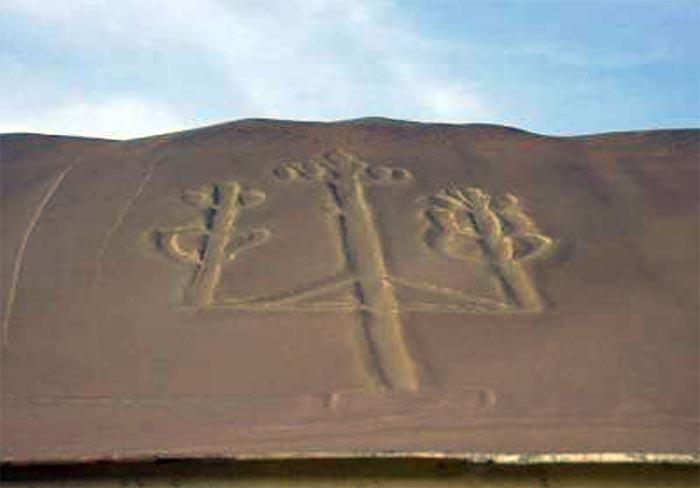 Канделябр Паракаса, рисунки пустыни Наска
