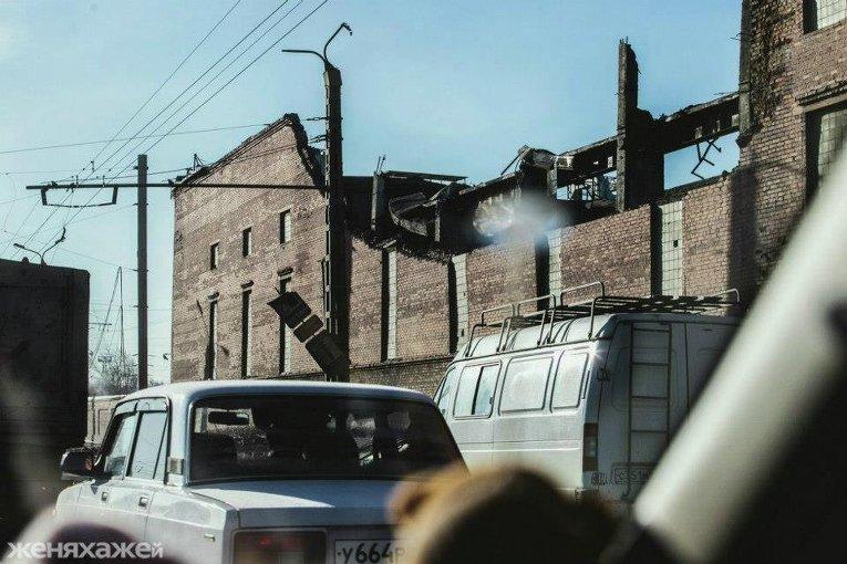 Челябинский метеорит, фото, Цинковый завод