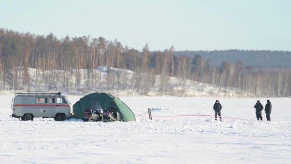 Челябинский метеорит, озеро Чебаркуль, водолазы