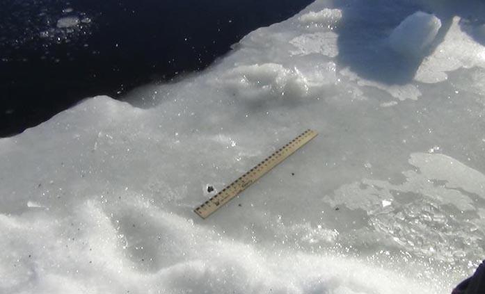 Челябинский метеорит, озеро Чебаркуль