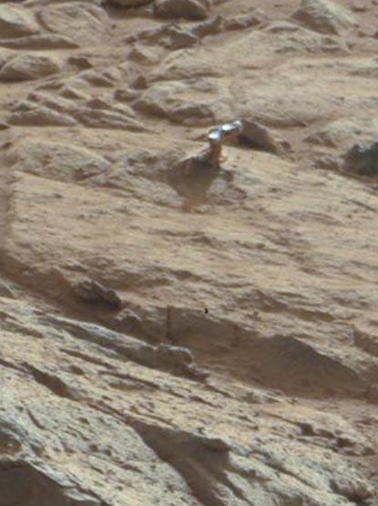 Curiosity нашел новый объект на Марсе