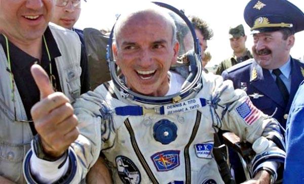 Деннис Тито, первый космический турист