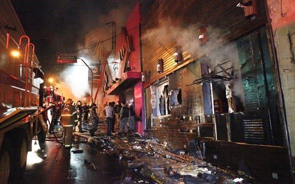 Пожар в клубе Kiss, Бразилия, 27.01.13