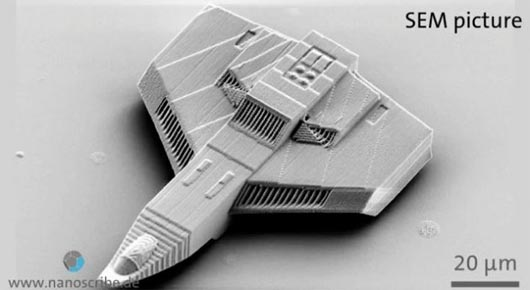 3D печать от Nanoscribe