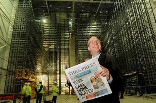 Newspaper Storage Building - хранилище для газет