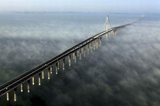 Самый длинный мост в мире, Циндао Хайван