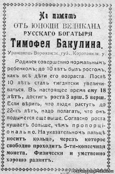 Русский богатырь Тимофей Силинский