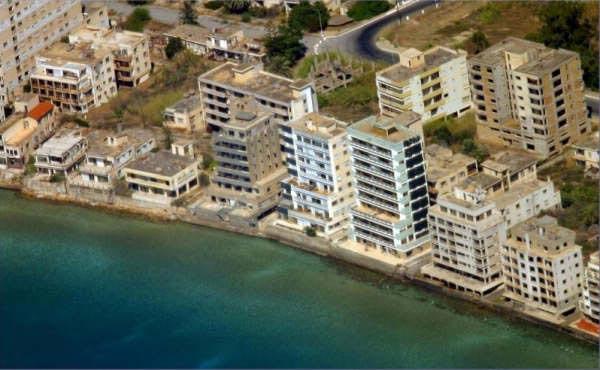 Город призрак Вароша, Кипр, фото