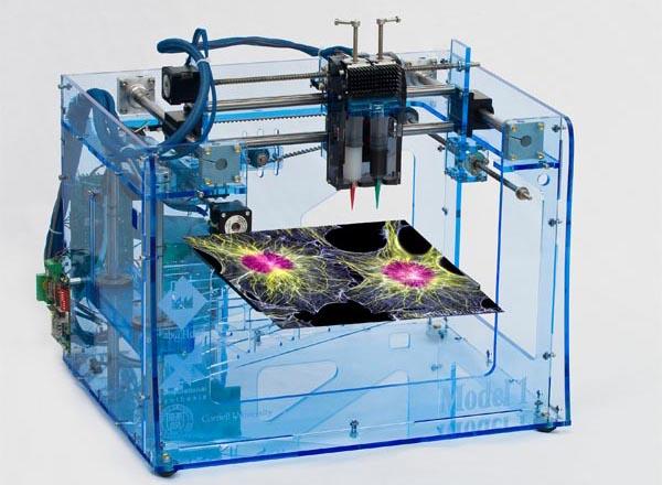 3D принтер, печать стволовых клеток