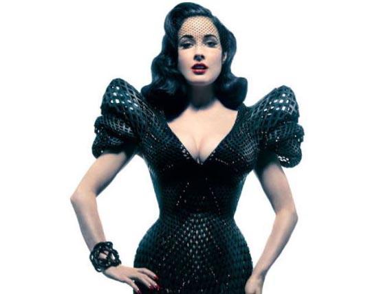 Платье, напечатанное на 3D принтере