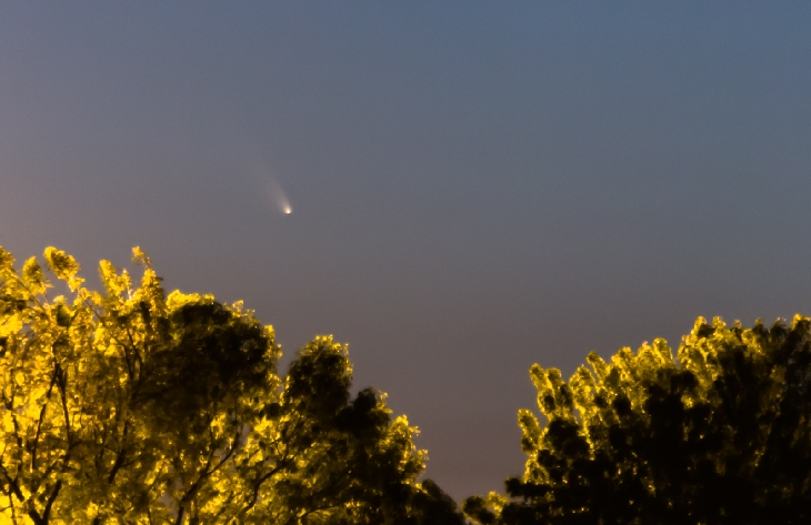 C/2011 L4 Pan-Starrs, комета, США