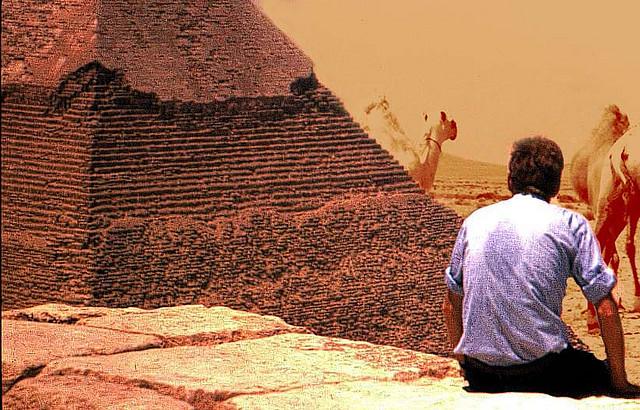 Руферы на пирамиде Хеопса