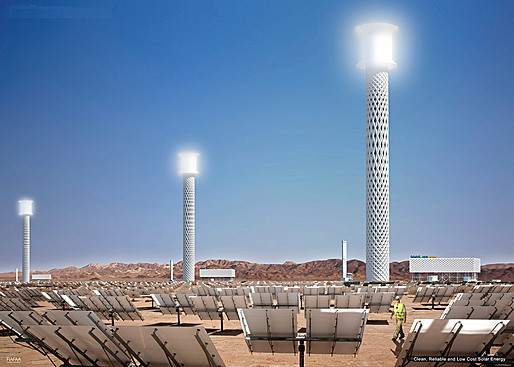 Ivanpah Solar Power Facility, солнечный завод
