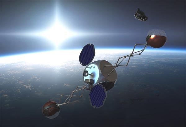 Sling-Sat, уборщик мусора на орбите