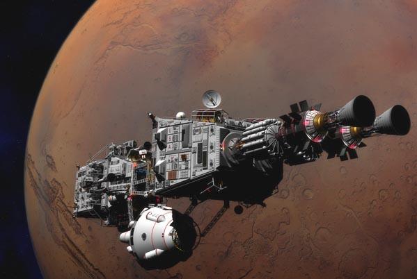 Полет на Марс 2018 года