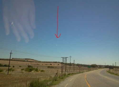 Метеорит, Южная Африка, 2013 года