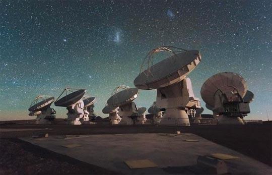 ALMA, обсерватория, Чили