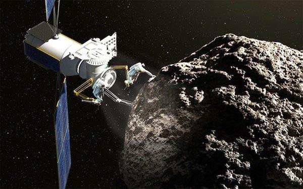 Астероид, NASA, орбита Луны