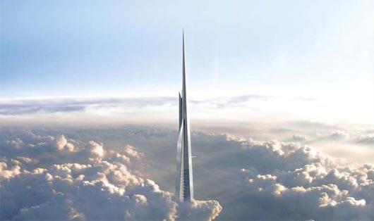 Kingdom Tower, самое высокое здание, Саудовская Аравия, строения