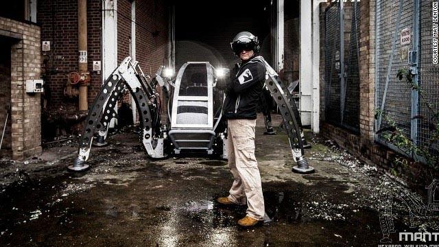 Hexapod Mantis, робот-паук, Мэтт Дентон, Matt Denton