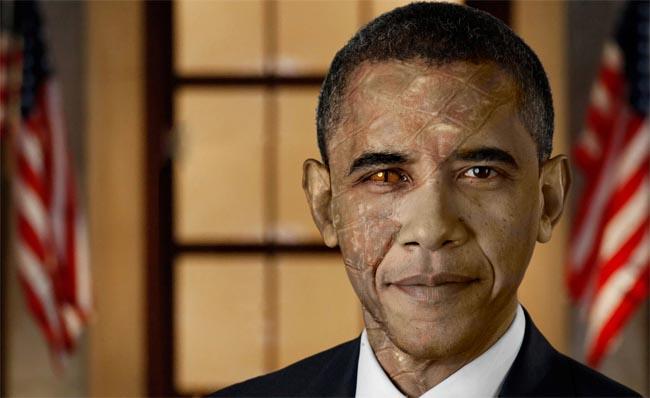 Обама рептилоид
