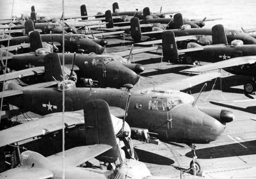 Самолеты, Вторая Мировая