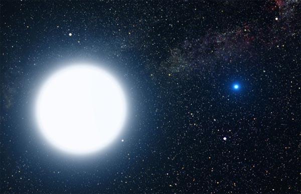 Сириус-B, звезда, космос
