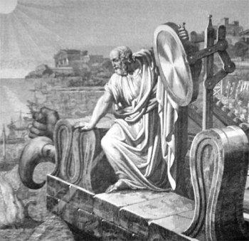Солнечное оружие Архимеда