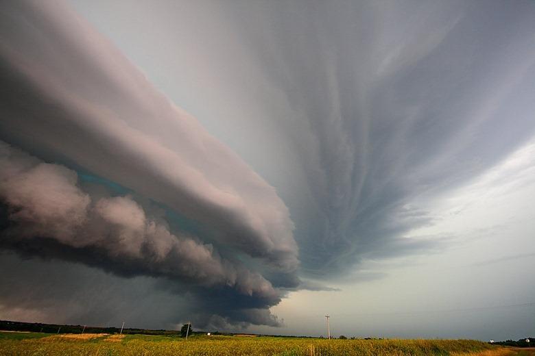 Крис Эллингтон, фотографии торнадо