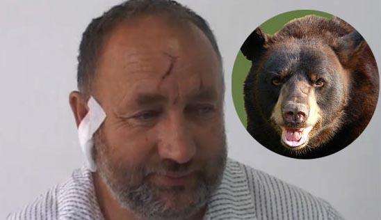 Блазо Гркович, Blazo Grkovic, удивительные люди, медведь