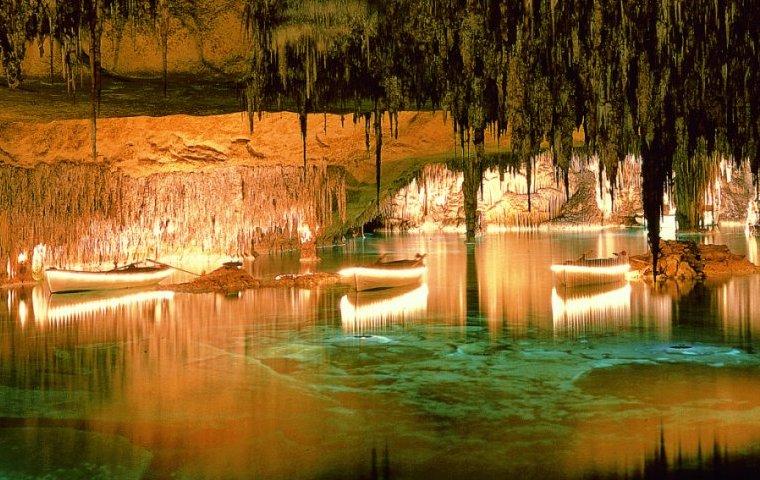 Пещеры Драк, пещера, Cuevas del Drach, пещера Дракона, Испания