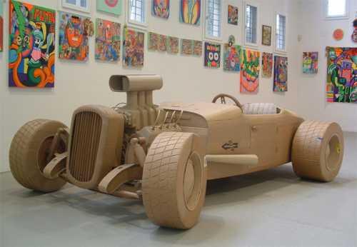 Крис Гилмор, Chris Gilmour, скульптуры из картона, искусство