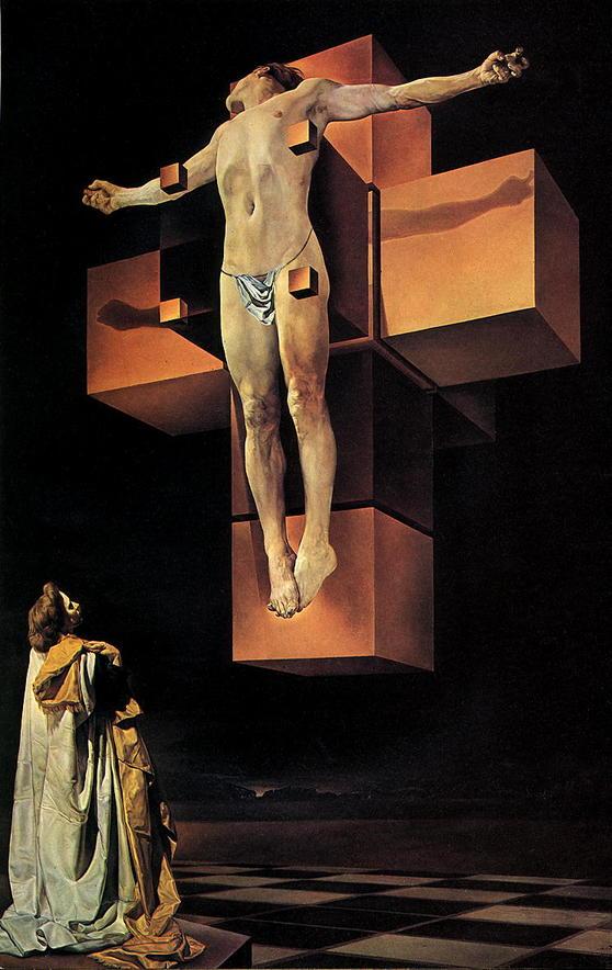 Сальвадора Дали, Распятие на кресте