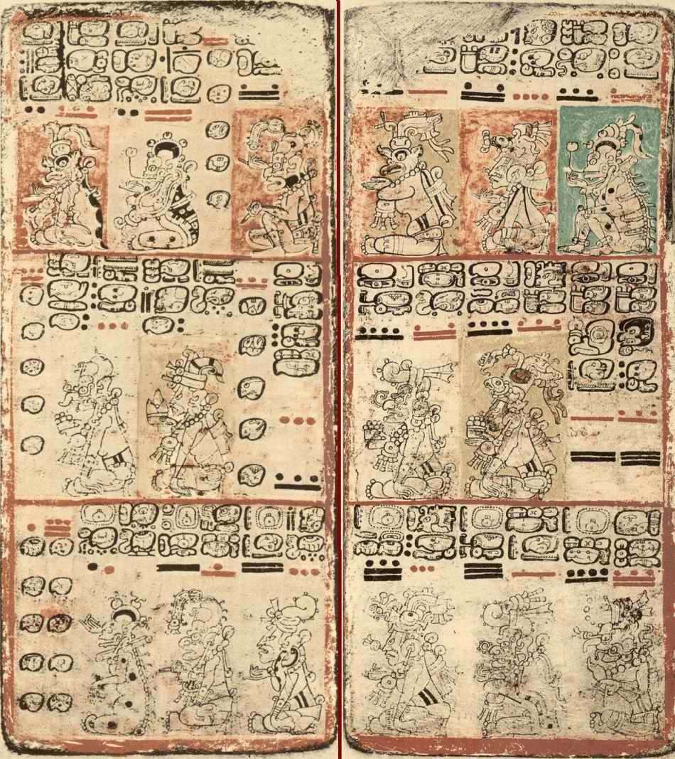 Дрезденский кодексы майя, артефакты, майя