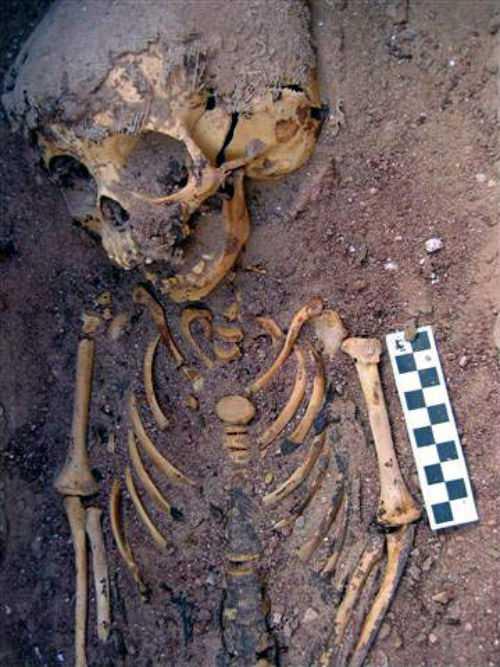Египет, ребенок, археология