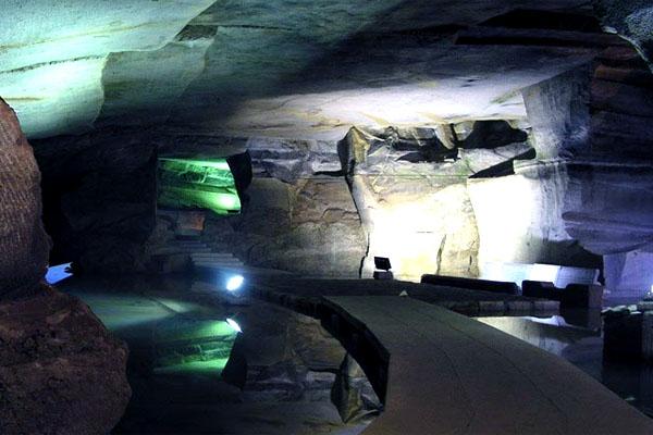 Huashan Mysterious Caves, пещеры горы Хуаншань
